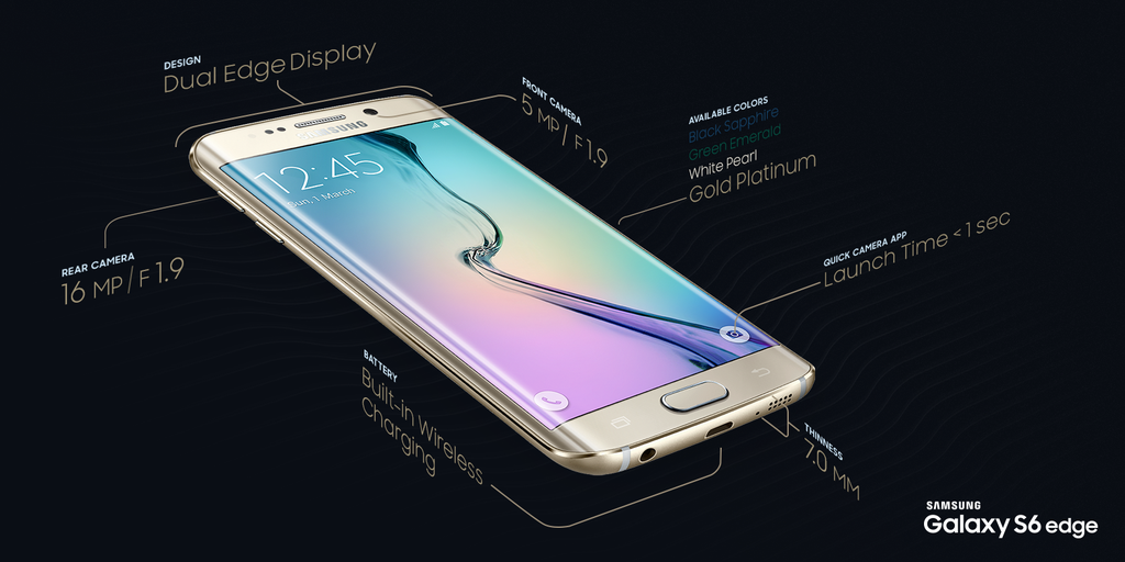 samsung-galaxy-s6-masse [MWC 2015] Samsung Unpacked: GALAXY S6, GALAXY 6 edge & Gear VR for S6 Gadgets Google Android Samsung Smartphones