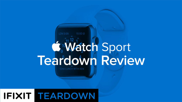 Die Apple Watch im iFixit-Teardown 1