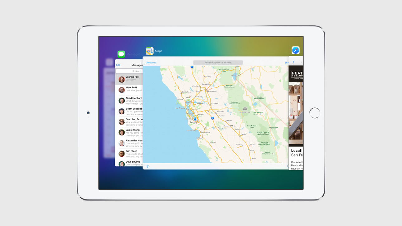 apple-ios-9-ipad-app-switching [WWDC 2015] Apple stellt iOS 9 vor Apple iOS Apple iPad Software