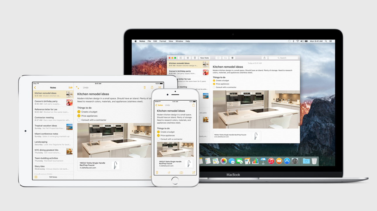 apple-ios-9-notes2 [WWDC 2015] Apple stellt iOS 9 vor Apple iOS Apple iPad Software