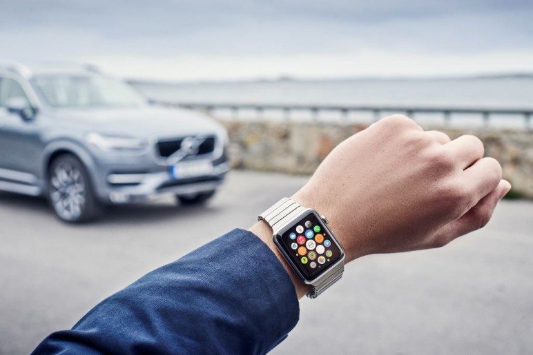 Volvo On Call künftig mit Smartwatch-Integration 1