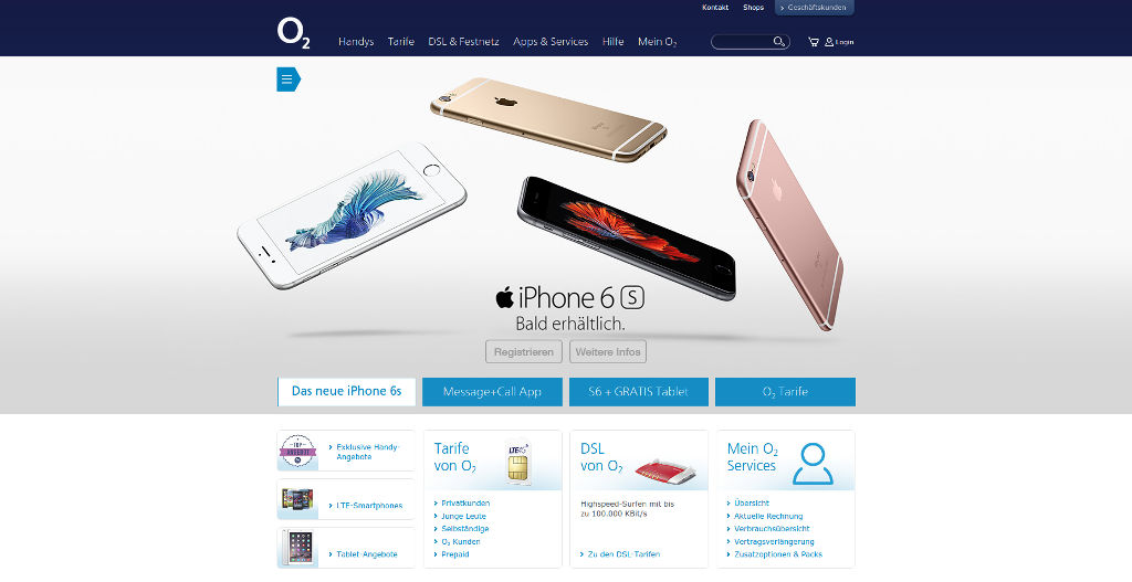 apple-iphone-6s-o2 Apple iPhone 6s ab 12.9. um 9:01 Uhr vorbestellen Apple iOS Gadgets Smartphones Technologie Web