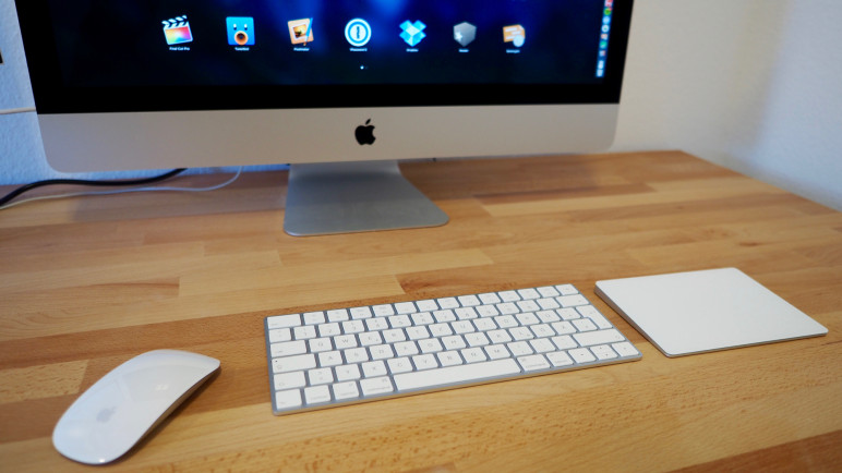 PB103629-772x434 Test: Apple Magic Keyboard, Magic Trackpad 2 und Magic Mouse 2 Apple Technology Testberichte