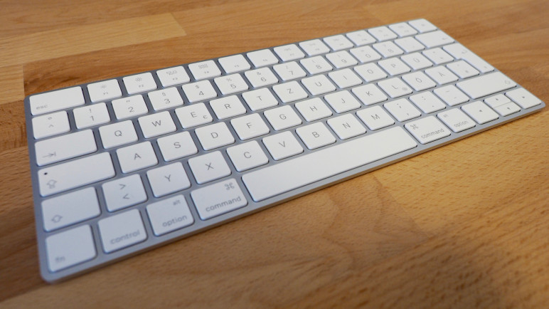 PB103630-772x434 Test: Apple Magic Keyboard, Magic Trackpad 2 und Magic Mouse 2 Technologie Testberichte