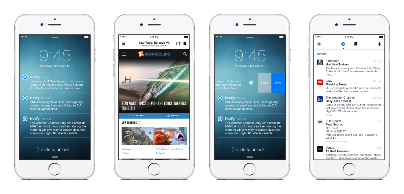 Unbenannt18 Notify: Eine neue App von Facebook Apple Apple iOS Entertainment Gadgets Smartphones Software Technology