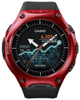 c4 CES 2016: Casio Smart Outdoor Watch WSD-F10 mit Android Wear Gadgets Technologie