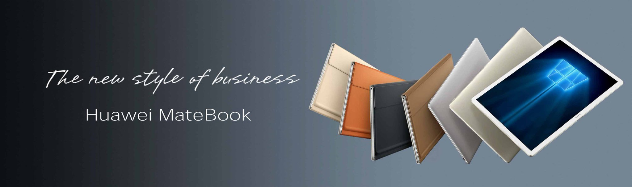 huawei-mate-book-colors MWC 2016: Huawei MateBook soll Surface Pro 4 und iPad Pro angreifen Computer Gadgets Microsoft Tablets YouTube Videos
