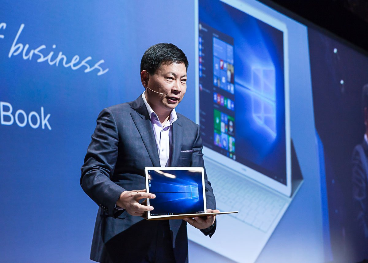 huawei-mate-book MWC 2016: Huawei MateBook soll Surface Pro 4 und iPad Pro angreifen Computer Gadgets Microsoft Tablets YouTube Videos