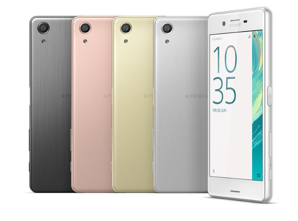 sony-xperia-x-performance-colors MWC 2016: Sony zeigt seine neue X-Smartphone-Reihe und das Xperia Ear Ericsson Gadgets Google Android Smartphones YouTube Videos