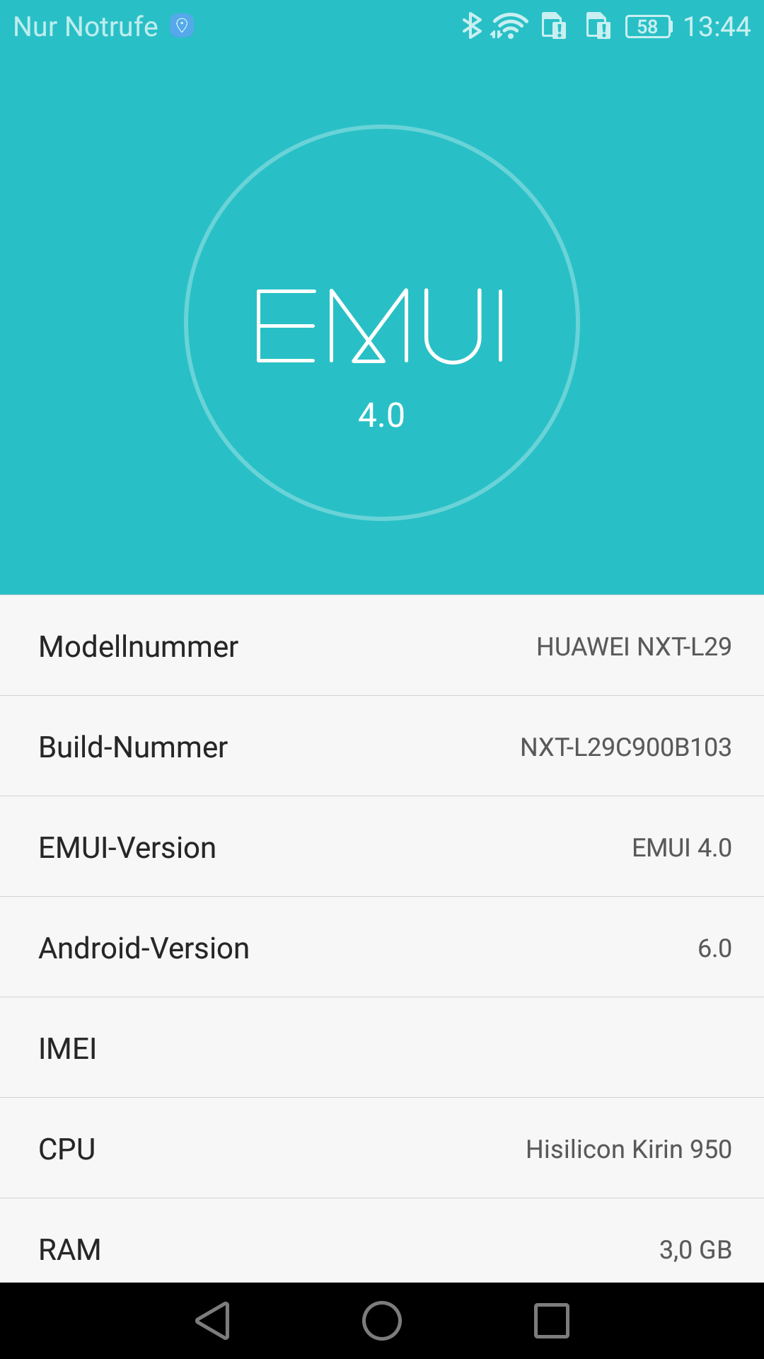 Huawei Mate 8 Emui 4 Stereopoly