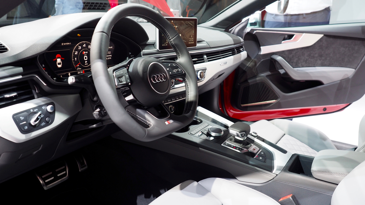 Audi A5 S5 2016 Interieur Stereopoly