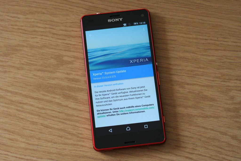 sony-xperia-z3-compact-update [How-To] Sony Xperia Z3 compact erhält Update auf Marshmallow Ericsson Gefeatured Google Android Howto Smartphones