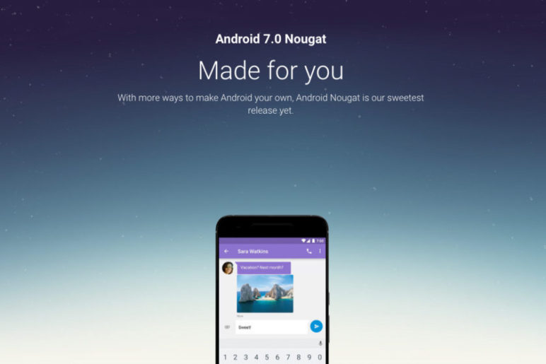 Android-7.0-Nougat-page-840x560-772x515 Android 7.0 Nougat - Updates werden bereits verteilt Google Android Smartphones Software