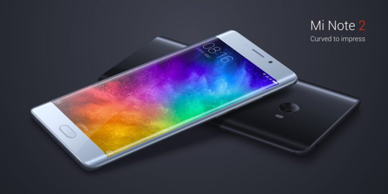 Xiaomi Mi Note 2 in Peking vorgestellt