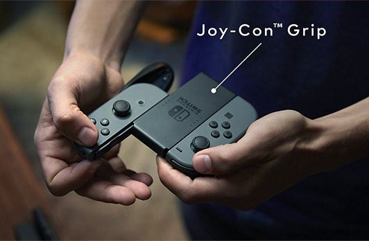 nintendo-switch-joy-con-grip Nintendo Switch - neue modulare Konsole kommt im März 2017 Entertainment Games Hardware Spielekonsolen Switch YouTube Videos