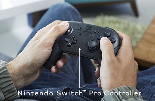 nintendo-switch-pro-controller Nintendo Switch - neue modulare Konsole kommt im März 2017 Entertainment Games Hardware Spielekonsolen Switch YouTube Videos