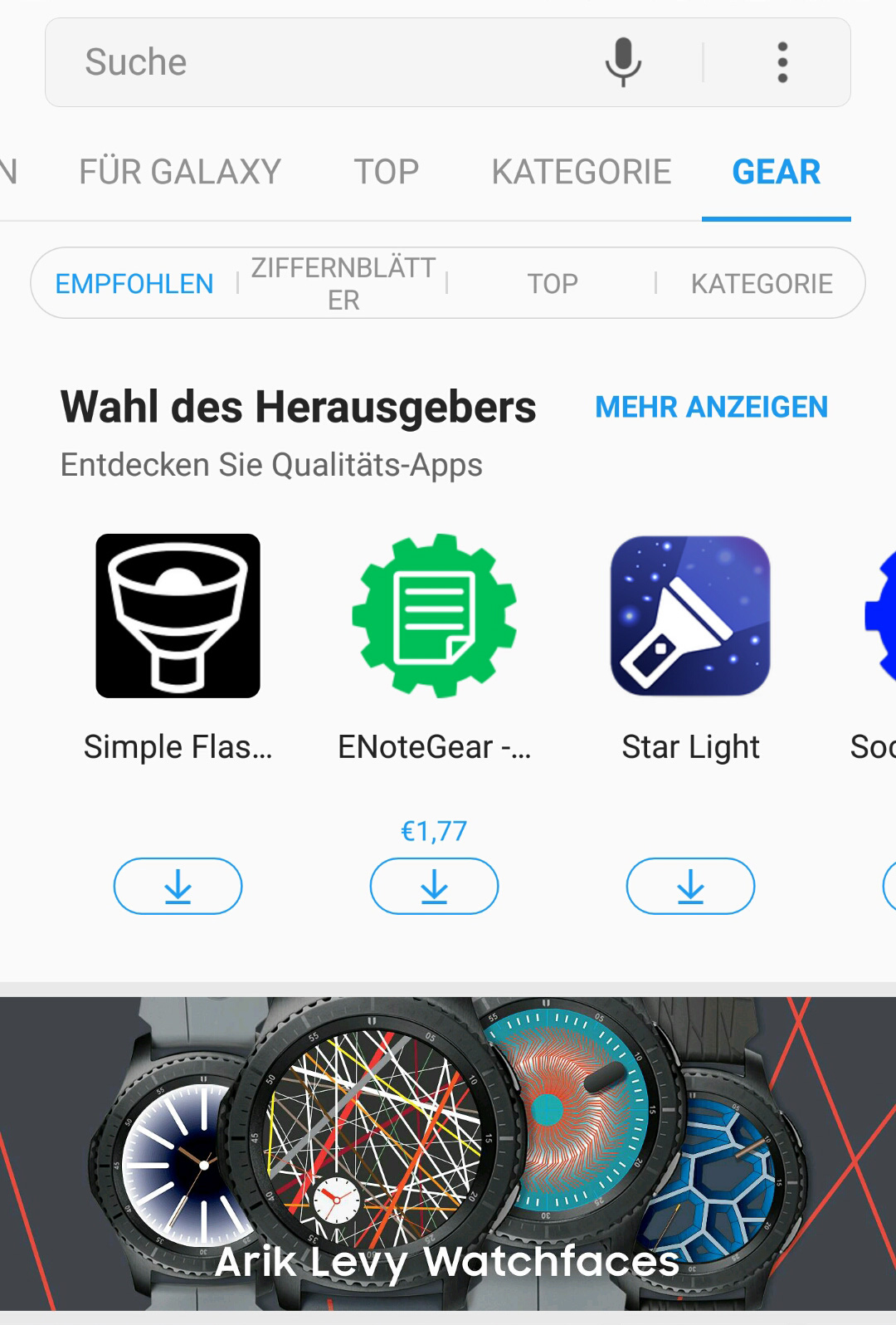 samsung-gear-s3-store-apps_01 Samsung Gear S3 frontier - Die Thronfolgerin im Test Featured Gadgets Hardware Reviews Samsung Smartwatches Technology Testberichte Tizen Wearables