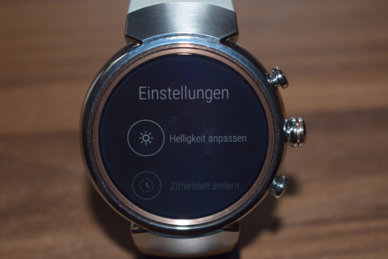 DSC_1814-772x516 ASUS ZenWatch 3 - die edle Smartwatch im Test Google Android Reviews Smartwatches Technology Testberichte Wearables