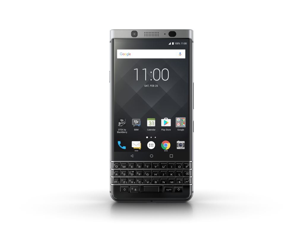 blackberry-keyone-front [MWC 2017] TCL zeigt das Blackberry KEYone Google Android Smartphones