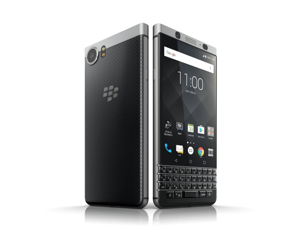 blackberry-keyone-hero [MWC 2017] TCL zeigt das Blackberry KEYone Google Android Smartphones