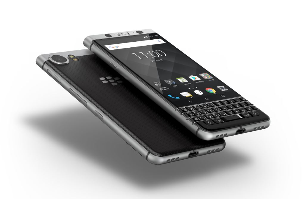 blackberry-keyone-schwebend [MWC 2017] TCL zeigt das Blackberry KEYone Google Android Smartphones