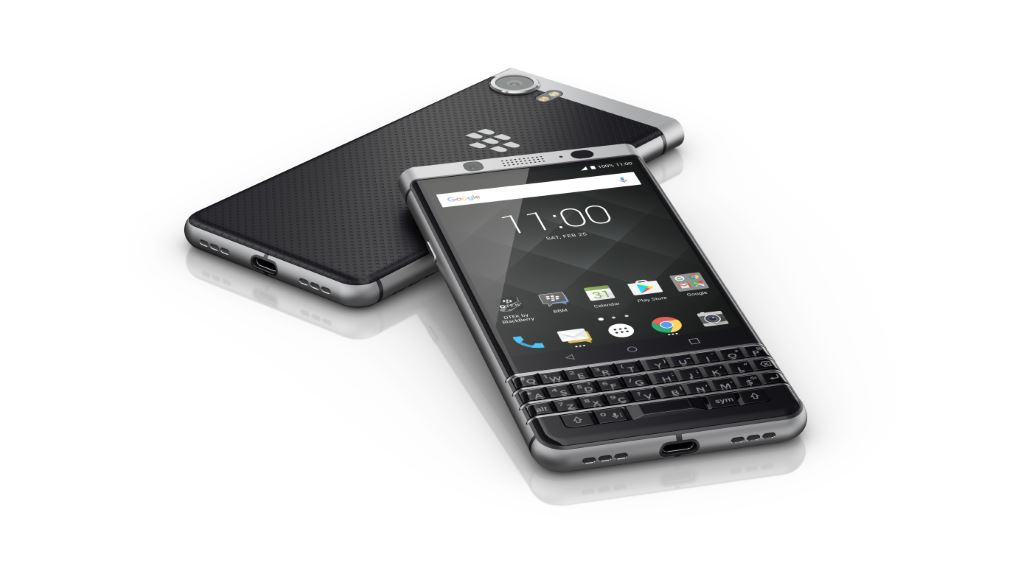 blackberry-keyone-slanted [MWC 2017] TCL zeigt das Blackberry KEYone Google Android Smartphones