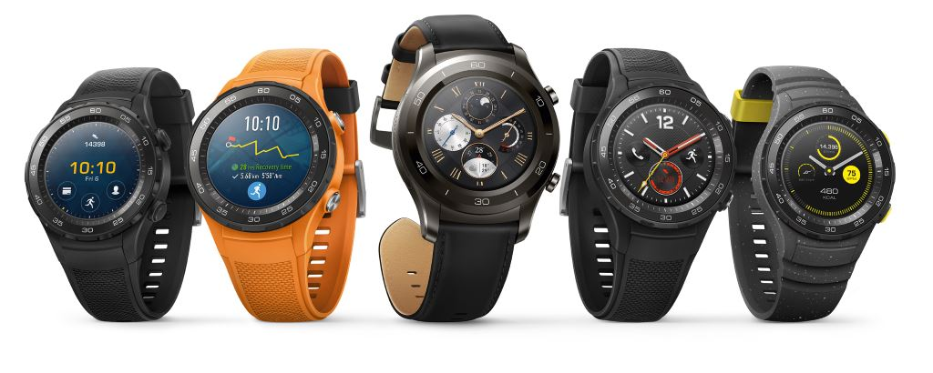 huawei-watch-2-family [MWC 2017] Die erste Smartwatch mit Android Wear 2.0 ist die Huawei Watch 2 Android Wear Gadgets Hardware Smartwatches Wearables YouTube Videos