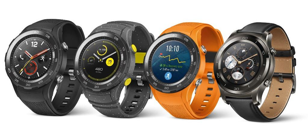 huawei-watch-models-e1488214172272 [MWC 2017] Die erste Smartwatch mit Android Wear 2.0 ist die Huawei Watch 2 Android Wear Gadgets Hardware Smartwatches Wearables YouTube Videos
