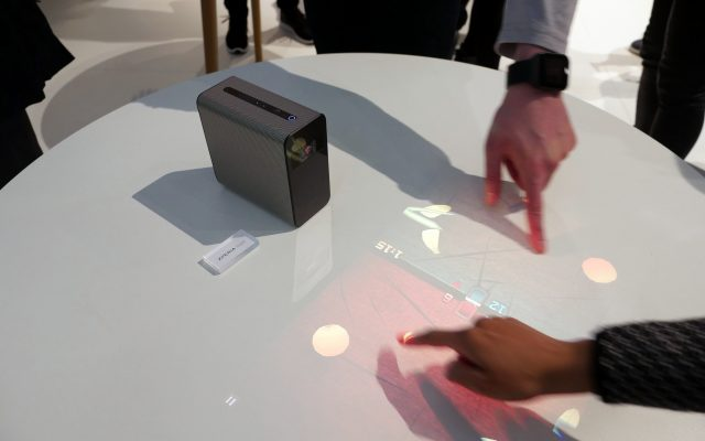 sony-xperia-projector-3-640x400 [MWC 2017] Alles wird ein Touchscreen mit dem Sony Xperia Touch Gadgets Google Android Technology