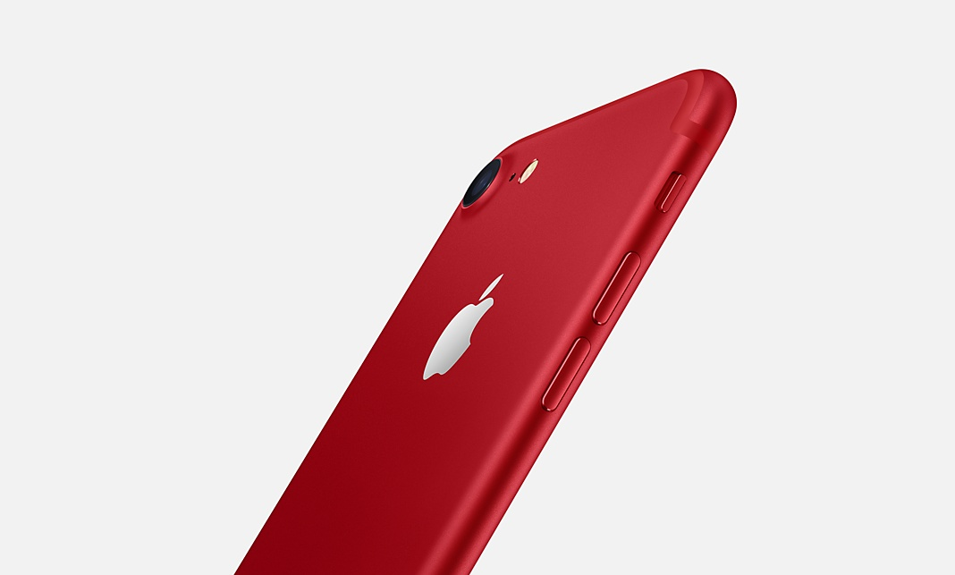 Apple bringt iPhone 7 in roter Sonderedition auf den Markt