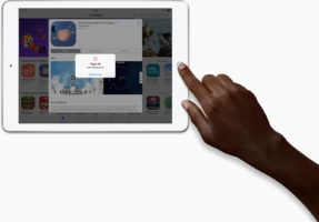 touchid_large-287x200 Apple stellt neues 9,7 Zoll iPad vor Apple Tablet Technology