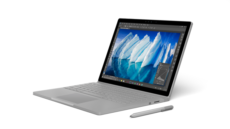 Surface Book mit Performance Base 1