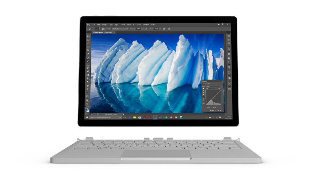 Surface Book mit Performance Base 3
