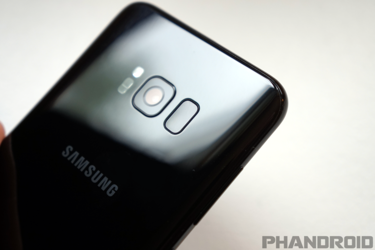 kabellosen Laden vom Galaxy S8