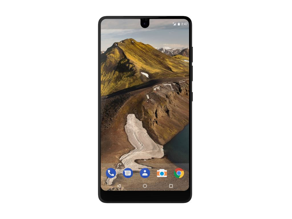 essential-phone-black-moon-front Essential Phone - ein neues Smartphone mit Randlosdesign & Modulen vom Erfinder von Android Gadgets Google Android Smartphones YouTube Videos