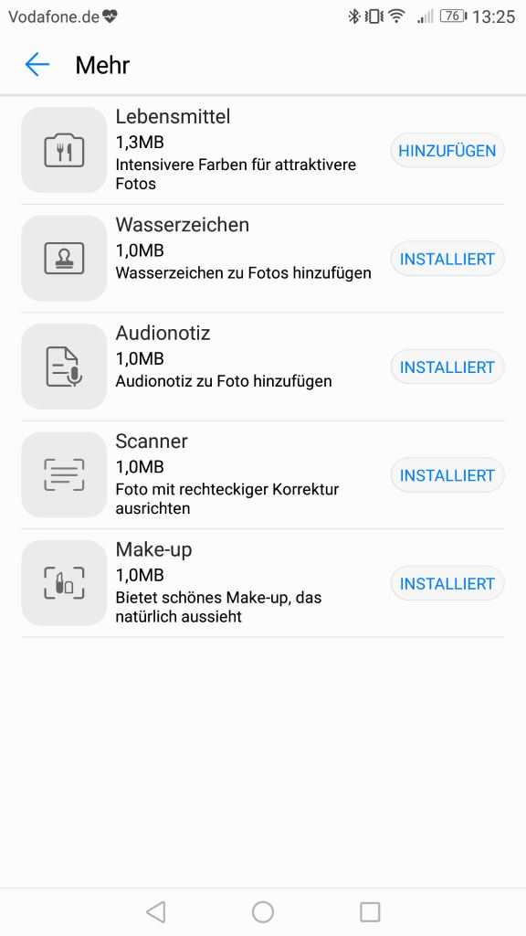 honor-6x-nougat-camera-plugins Rollout: Honor 6X bekommt Android 7.0 Nougat mit EMUI 5.0 Gadgets Google Android Honor Smartphones Software