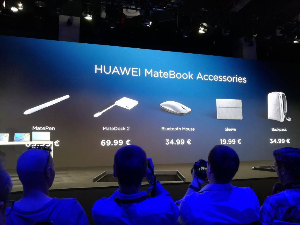 huawei-matebook-accessories-price Huaweis neue MateBooks - Newcomer und Nachfolger für einen umkämpften Markt Computer Huawei Tablets Technologie Windows YouTube Videos