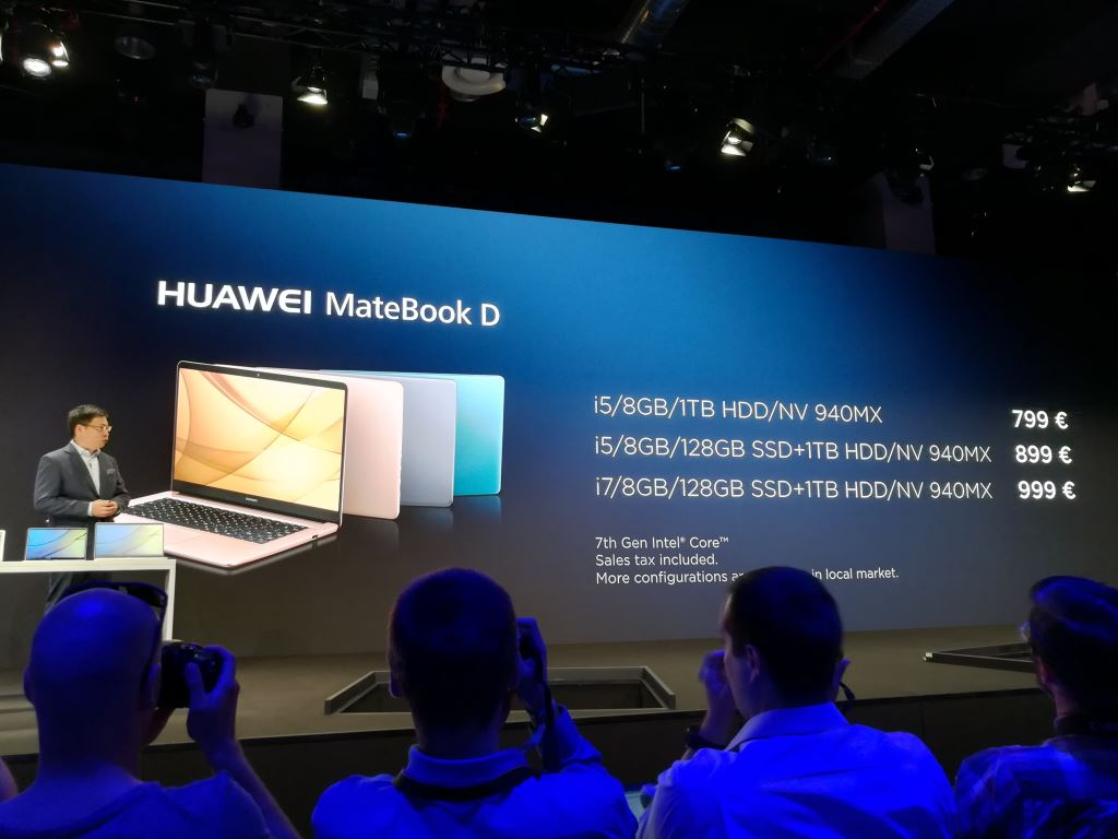 huawei-matebook-d-farben-preise Huaweis neue MateBooks - Newcomer und Nachfolger für einen umkämpften Markt Computer Huawei Tablets Technologie Windows YouTube Videos