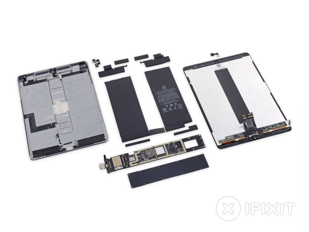 ifixit-zerlegt-ipad-pro-2017 iFixit zerlegt das iPad Pro 10.5 (2017) Apple Apple iOS Apple iPad Gadgets Hardware Howto YouTube Videos
