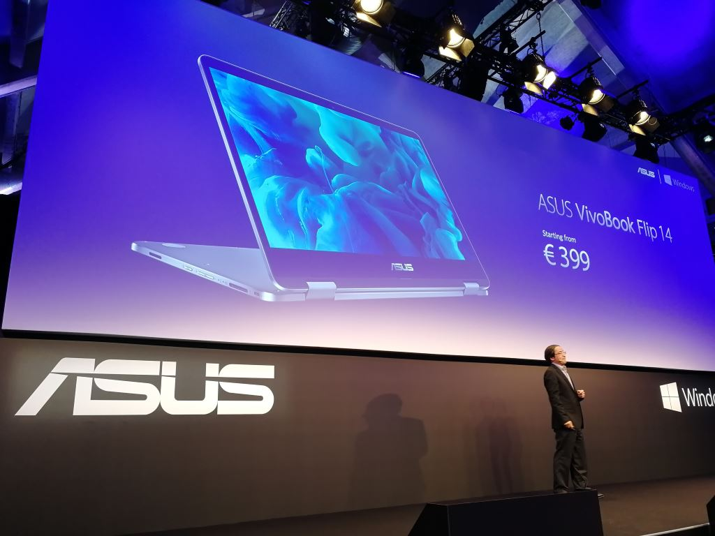 asus-vivobook-flip-14 [IFA 2017] Die Highlights von ASUS: Convertibles ab 400 Euro, MR-Headset und ROG Chimera mit 144-Hz-Display Asus Asus Computer Entertainment Gadgets Games Hardware Technology Windows