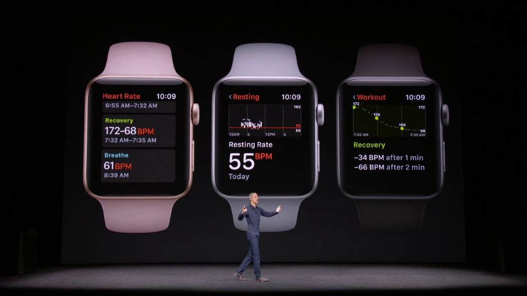 apple-watch-series-3-heartrate Apple Watch Series 3 - jetzt auch mit LTE (bei der Telekom) Apple Apple iOS Gadgets Hardware Smartwatches Wearables YouTube Videos