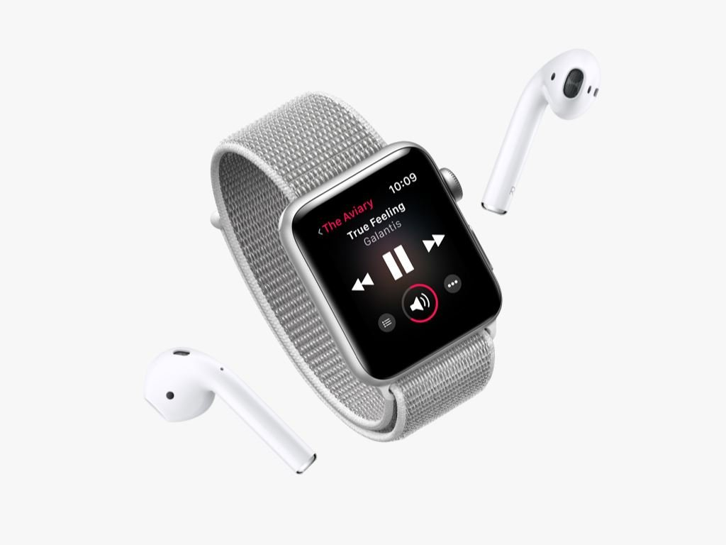 apple-watch-series-3-musikstreaming Apple Watch Series 3 - jetzt auch mit LTE (bei der Telekom) Apple Apple iOS Gadgets Hardware Smartwatches Wearables YouTube Videos