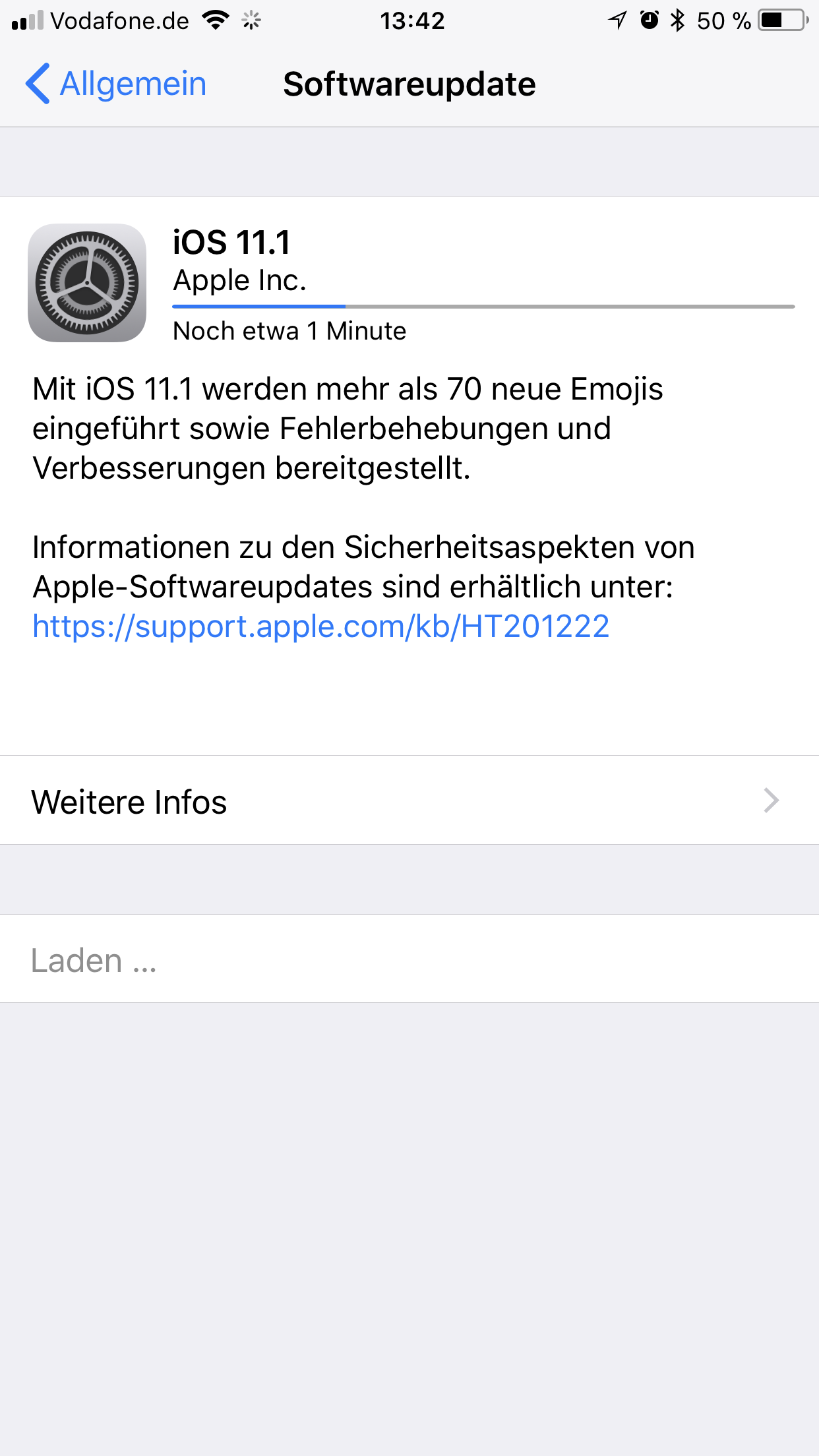 IMG_0709 iOS 11.1 kommt mit 70 neuen Emoji Apple Apple iOS Apple iPad Shortnews Smartphones Software Technology
