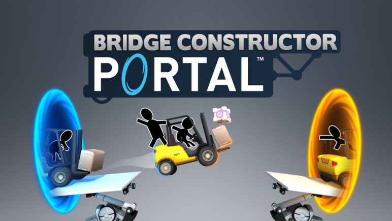 bridge-constructor-portal-header-772x435 Bridge Constructor Portal ist online Apple iOS Computer Games Google Android PlayStation Smartphones Spielekonsolen Switch Windows Xbox