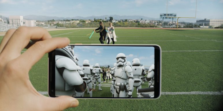 Star Wars AR-Sticker