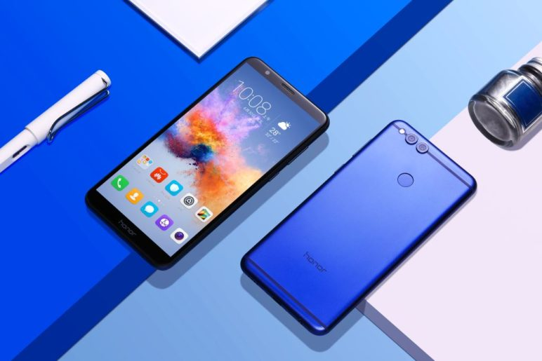 Honor 7X in Blau