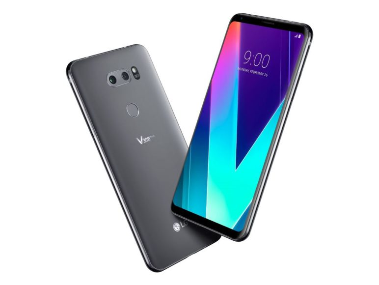 LG V30S ThinQ - New Platinum Gray