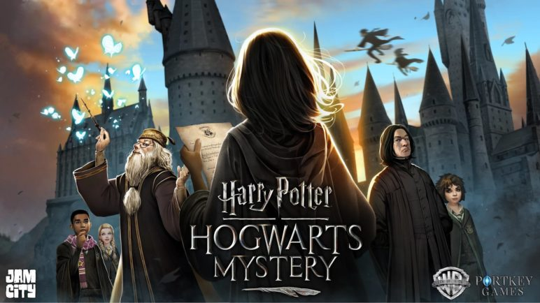 harry-potter-hogwarts-mystery-hero-logo-772x434 Harry Potter: Hogwarts Mystery erscheint am 25. April Apple iOS Games Google Android Software