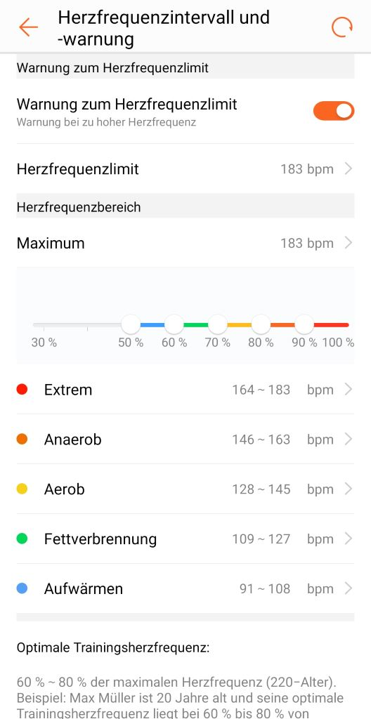 huawei-band-2-pro-herzfrequenz-einstellungen HUAWEI Band 2 Pro - der Gesundheits- und Fitnesstracker mit GPS im Test Accessoires Apple iOS Featured Gadgets Google Android Hardware Reviews Testberichte Wearables YouTube Videos