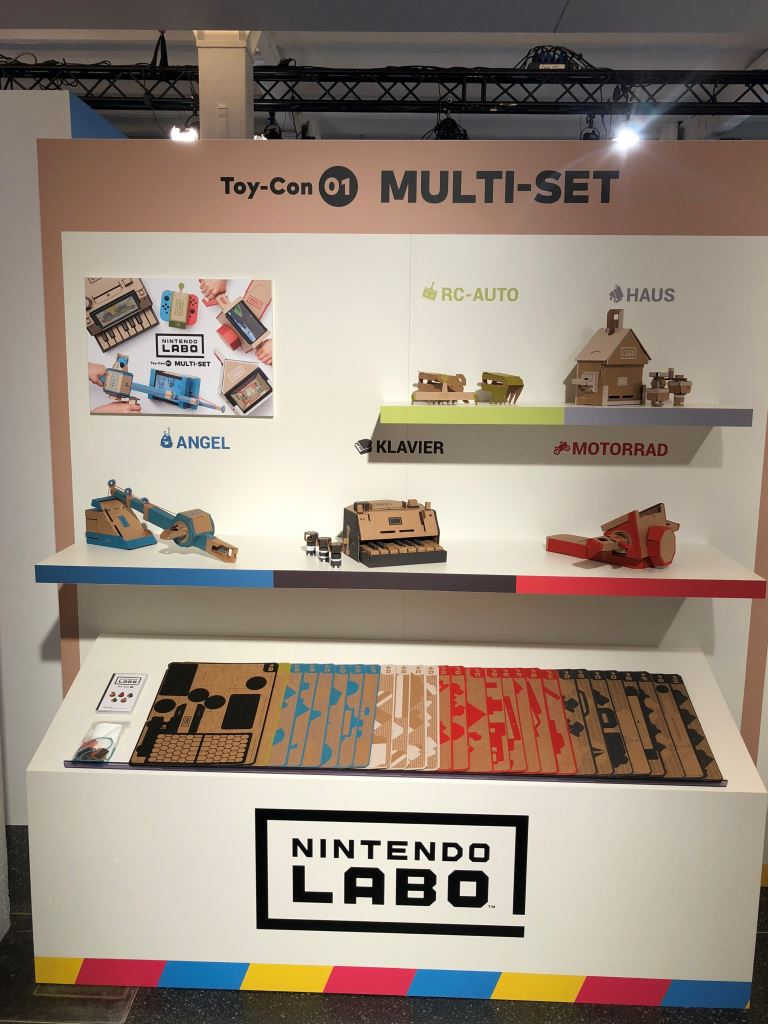 nintendo-labo-multi-set Nintendo LABO - mit Pappe programmieren lernen - ab heute im Handel Entertainment Featured Games Hardware Reviews Software Spielekonsolen Switch Technology Testberichte YouTube Videos